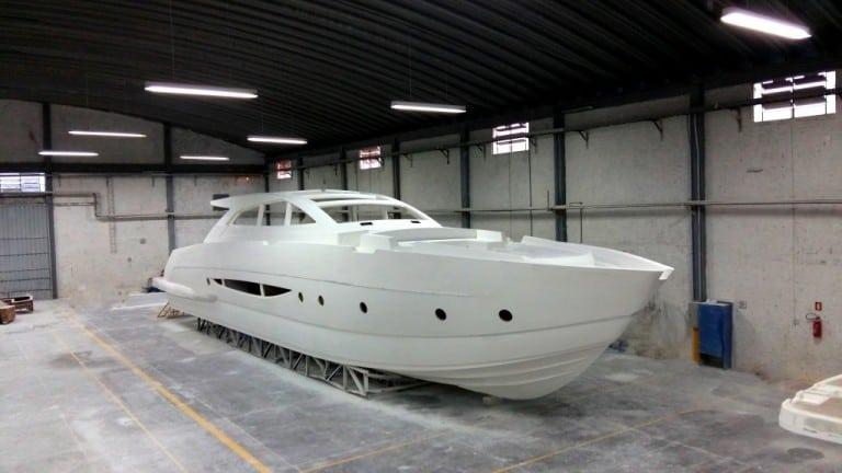 projetar um barco