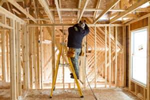 contrução de uma casa wood frame