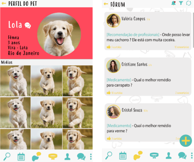 petbusca interface