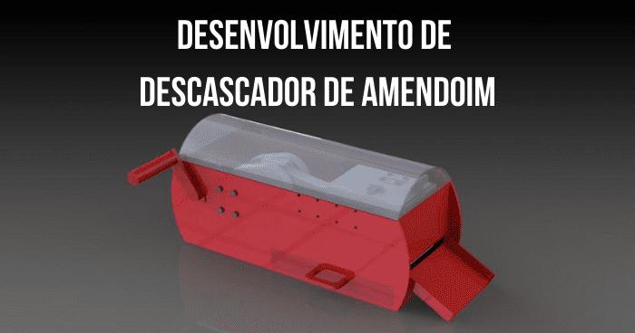 Imagem Computacional Equipamento Descascador De Amendoim